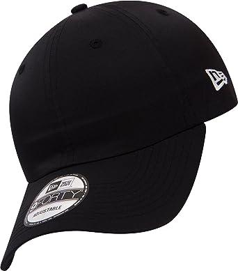 36bac57ca4be0 New Era 9FORTY New York Yankees Baseball Cap - Monochrome Side Script -  Black Adjustable