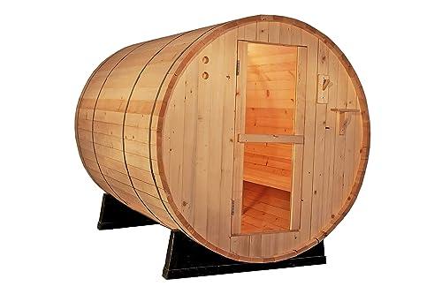 Canadian Outdoor Barrel Sauna Wet/Dry Spa
