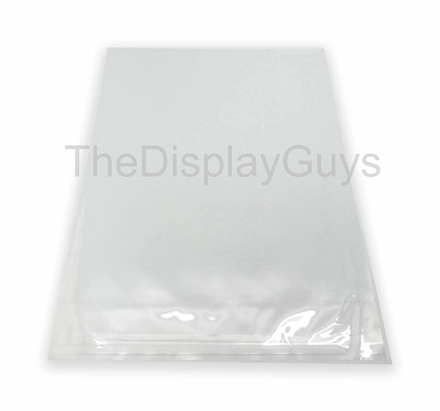 "100 Pcs 11 /½/"" x 14 1//4 Clear Self Adhesive Plastic Bags for 8/""x10/"" Picture Photo Framing Mats The Display Guys"