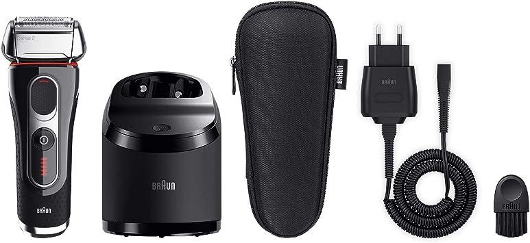 Braun 5090 Serie 5 - Afeitadora con cabezal basculante, cuchillas Power Comb, lámina Smart Foil, sistema de afeitado en 3 fases, color negro: Amazon.es: Salud y cuidado personal