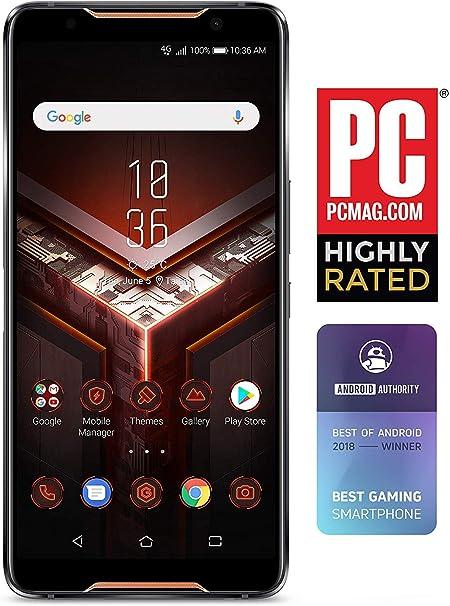 Asus Zs600kl S845 8g128g Rog Gaming Smartphone 6 Fhd 2160x1080 90hz Display Qualcomm Sd 845 8gb Ram 128gb Storage Lte Unlocked Dual Sim Gsm