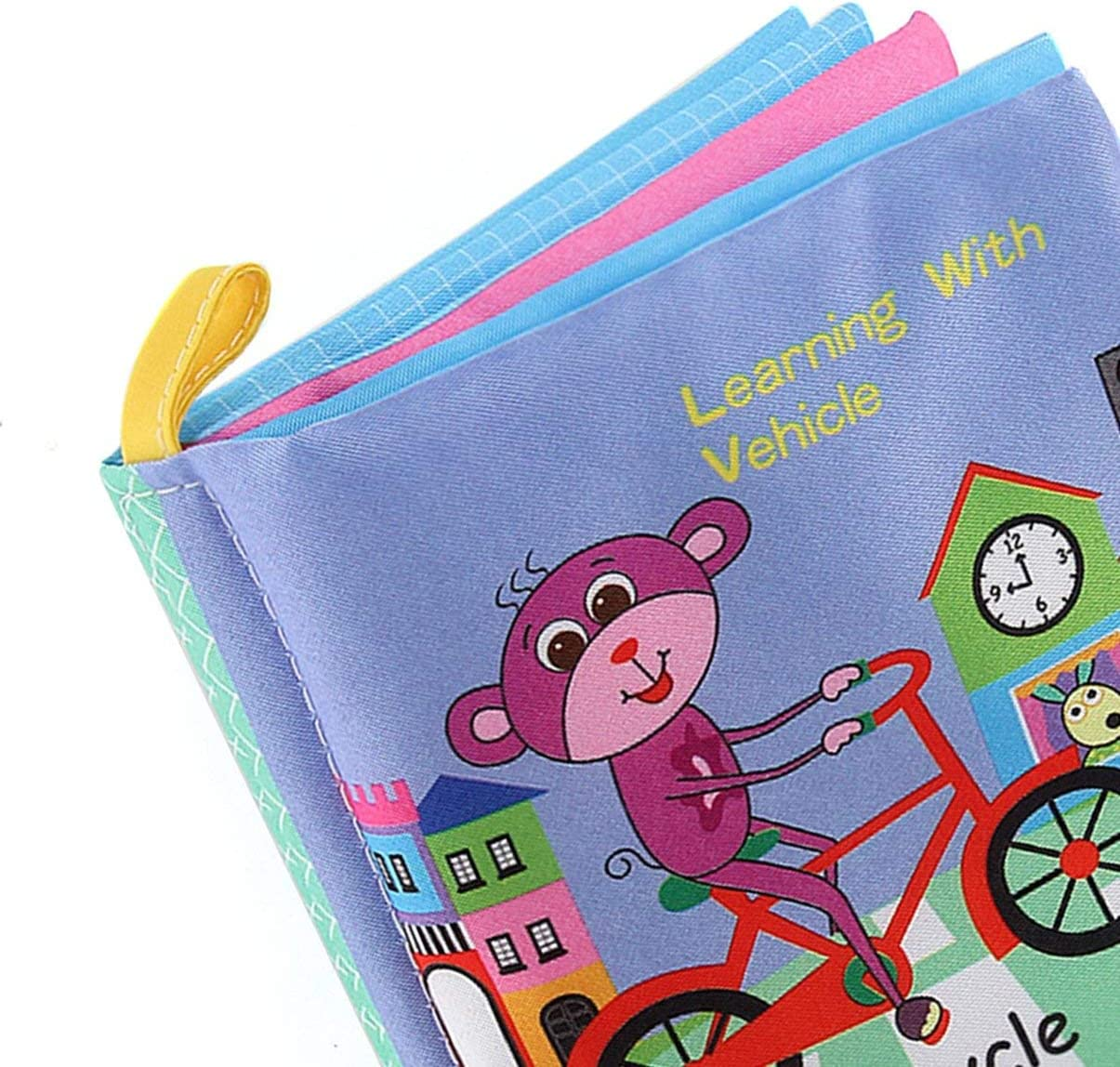 fgjhfghfjghj Baby Shower Bath English Cartoon Animal Cloth Book Early Educational Games Toy Christmas Birthday Gifts for Kids Children