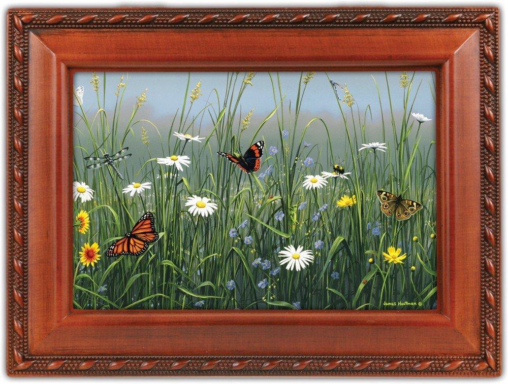 新入荷 Wildflower & Buttflies Wildflower Wildlife Woodgrain Cottage Garden Traditional Woodgrain Music Melody Box Plays Unchained Melody B0090R58NI, でんきのパラダイス 電天堂:0f6244d8 --- arcego.dominiotemporario.com