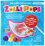 Zollipops The Clean Teeth Pops Hexagon Variety Jar