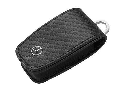 MB Mercedes-Benz estuche llavero, gris oscuro: Amazon.es ...