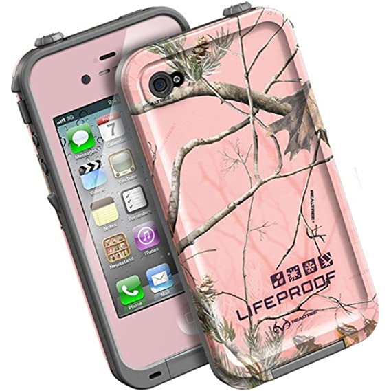 super popular 243c2 63bea LifeProof FRĒ iPhone 4/4s Waterproof Case - Retail Packaging - PINK/AP PINK  REALTREE CAMO (Discontinued by Manufacturer)