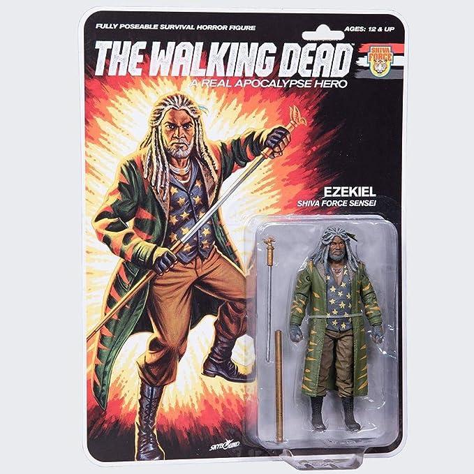 McFarlane The Walking Dead Action Figure Shiva Force Sensei Ezekiel (Color) 13 cm Toys: Amazon.es: Juguetes y juegos