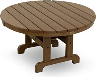 product image for Trex Outdoor Furniture TXRCT236TH Cape Cod Round Conversation Table, 36-Inch, Tree House