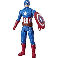 Marvel Avengers Titan Hero Series Captain America Action Figure, 12-Inch Toy, Inspired by Marvel Universe, for Kids Ages…