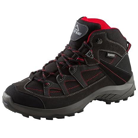 Mckinley Multi-Schuh Discover Mid Aqx M - black/red dark, Größe:41