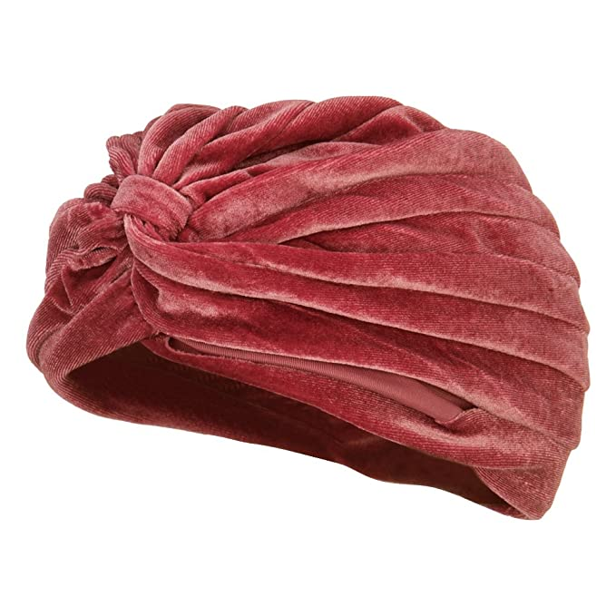 Vintage Hair Accessories: Combs, Headbands, Flowers, Scarf, Wigs  Velvet Turban Hat $16.99 AT vintagedancer.com