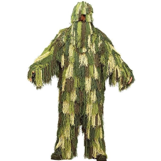 Disfraz de traje ghillie para adulto - Estándar: Amazon.es ...