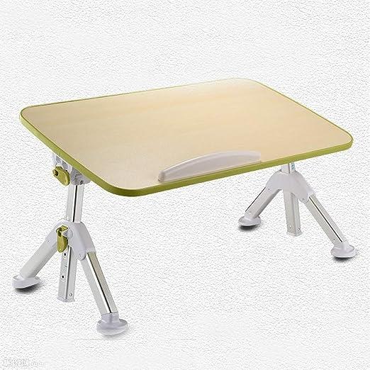 CMXSC Mesa Plegable de Aluminio pequeño Bed Lazy Escritorio ...
