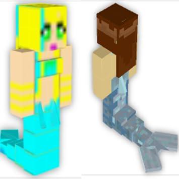 Amazoncom Mermaid Skins For Minecraft PE Appstore For Android - Skins para minecraft pe com
