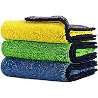 Car Drying Towel,ShowTop Free Microfiber Cleaning Cloth,Premium Professional Soft Microfiber Towel,Super Absorbent…