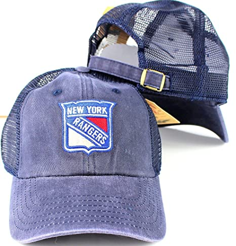 ea829c3e Image Unavailable. Image not available for. Color: New York Rangers NHL American  Needle Raglan Bones Mesh Cap