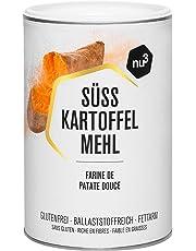 nu3 Farine de Patate Douce Pérou 100% Alternative sans Gluten à la Farine de Blé Riche en Fibres Vegan 500 g