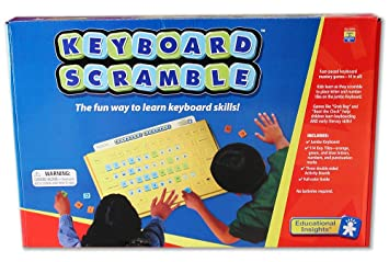 Keyboard Scramble Interactive Keyboard Letters Words Educational