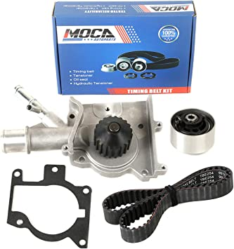 ECCPP Timing Belt Water Pump Kit Fit for 2000-2003 Ford Focus SE 2.0L