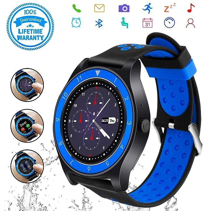 Amazon com: Smart Watch,Bluetooth Smartwatch Touch Screen