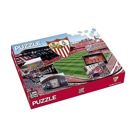 SFC SEVILLA FUTBOL CLUB Puzzle Sevilla FC 1000 Piezas: Amazon.es ...