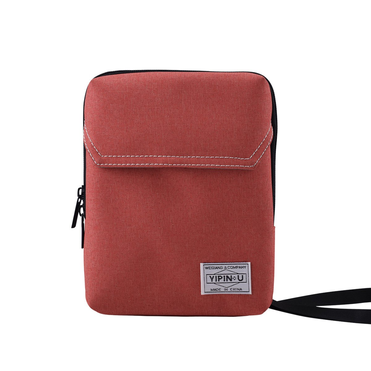 OCTAVE® Holiday Essentials Travel Neck Wallet Valuables Pouch With Cord