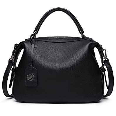 b0625a9219 Image Unavailable. Image not available for. Color  ZOOLER Genuine Leather  Handbags for Women Top Handle Bag ...