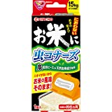 KINCHO お米に虫コナーズ におわない米びつ用防虫剤 15kgタイプ 無臭