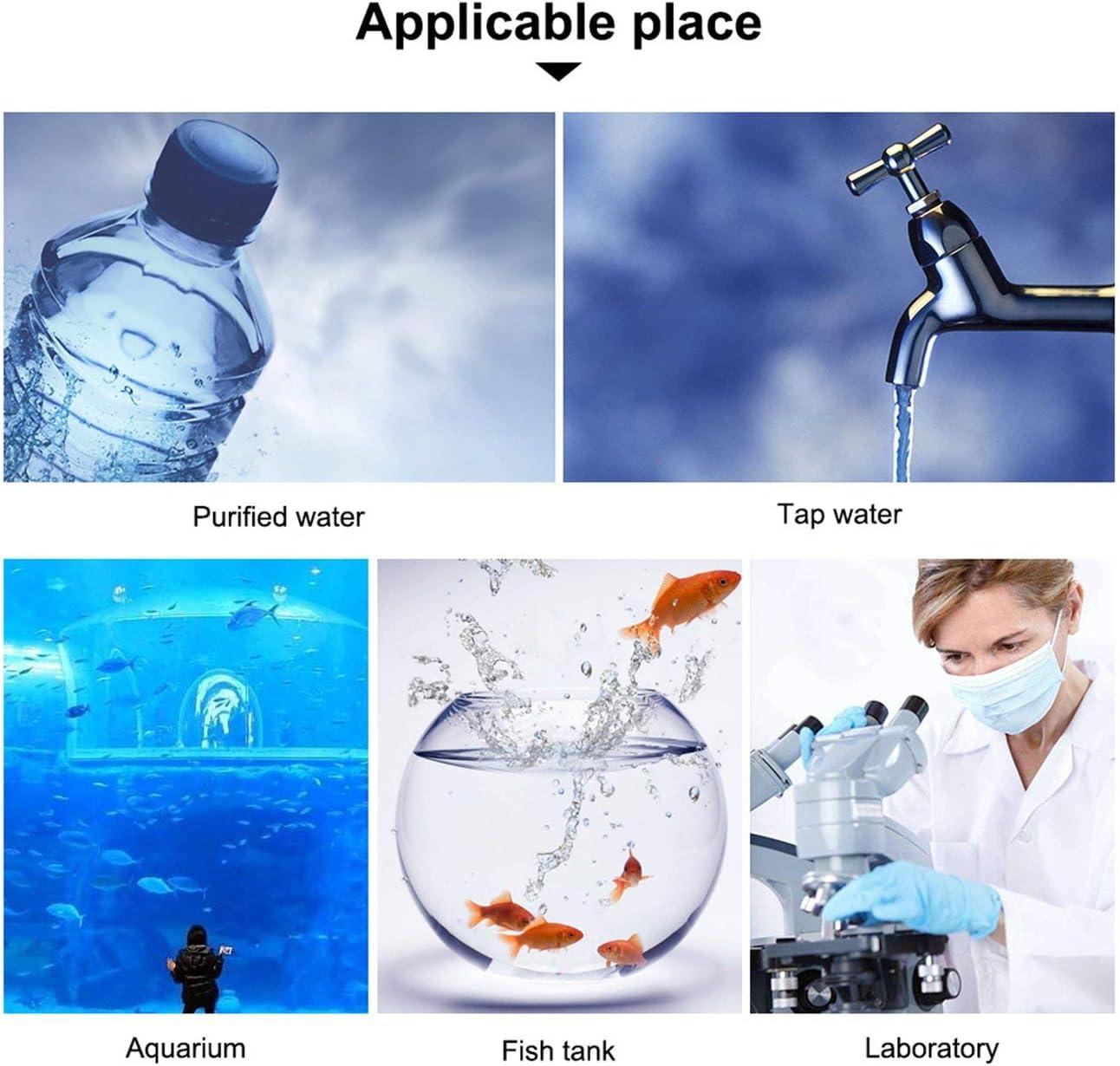 Blue JIUY Portable PH Meter Tester Pen Water Quality Purity Monitor Filter Measuring for Aquarium Wine Urine Digital Acidometer
