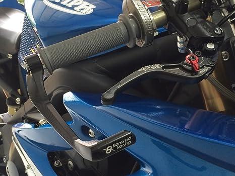 Amazon.com: Bonamici Motorcycle Brake Lever Guard (Black / Green) - Aluminum T-6061: Automotive