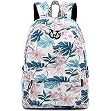 Joymoze Fashion Leisure Backpack for Girls Teenage School Backpack Women Print Backpack Purse (Cute Flower)