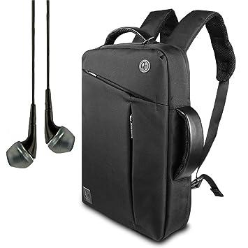 Vangoddy – 3 en 1 Hombro Bolsa Mochila y bolso bandolera para HP Spectre x360 –