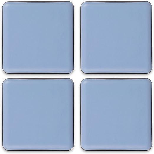 Patins en feutre pour meubles professionnels Avec un pouvoir adh/ésif id/éal - Blanc Rouleau 100 x 10 cm Filzada/® 1x Patins en feutre auto-adh/ésifs
