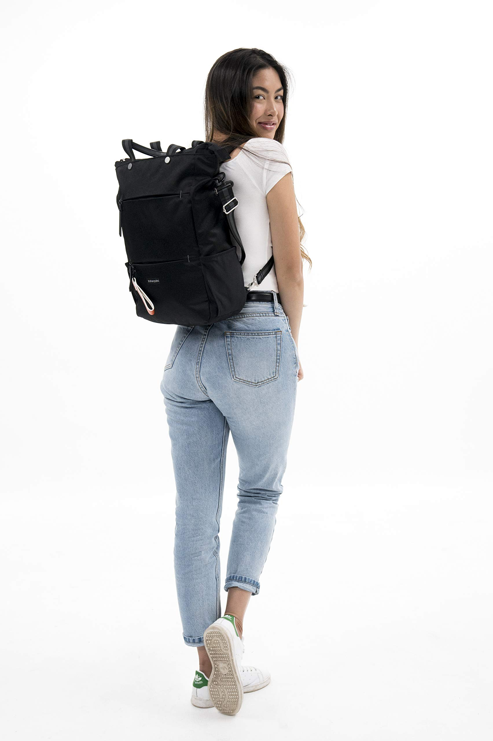 Sherpani Camden Raven Laptop Backpack, Raven by Sherpani (Image #6)