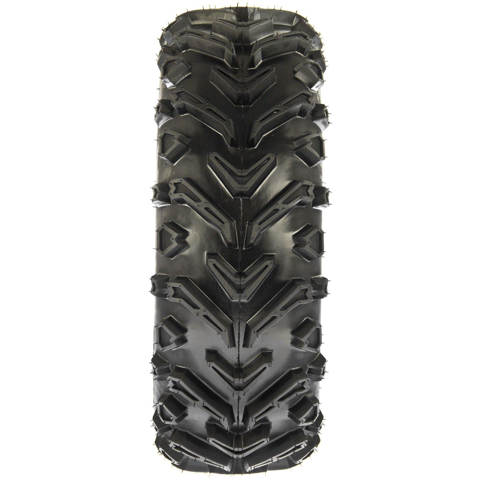 SunF 24x8-12 24x8x12 All Terrain Mud ATV UTV Tires 6 PR A041 (Set pair of 2) by SunF (Image #6)