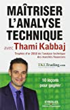 Maîtriser l'analyse technique avec Thami Kabbaj: 10 leçons pour gagner.