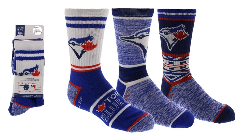 Toronto Blue Jays Boys 3-Pack Socks Gertex