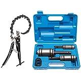 3 X Outils élargisseurs de tuyau de pot d'échappement + Coupe tube de pot d'échappement 85 mm