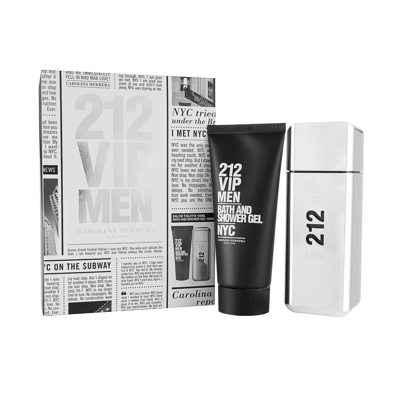 212 VIP Carolina Herrera 2 pc Gift Set For Men