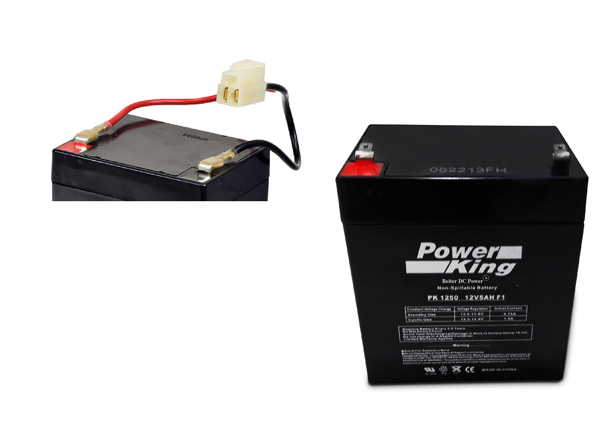 Razor PowerRider 360 Battery Part# W20136401003 Includes Wiring Harness Beiter DC Power