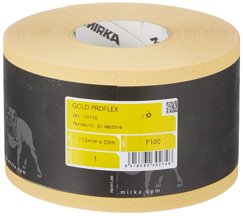 115/mm x 50/m Mirka 2851100110/Oro Proflex Rotolo P100