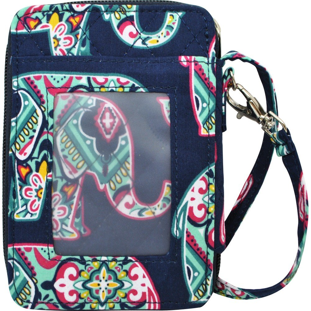 Elephant Print NGIL Quilted Wristlet Wallet by N.Gil (Image #3)