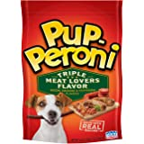 Pup-Peroni Triple Meat Lovers with Bacon, Sausage and Pepperoni Flavor Dog Snacks, 5.6 oz
