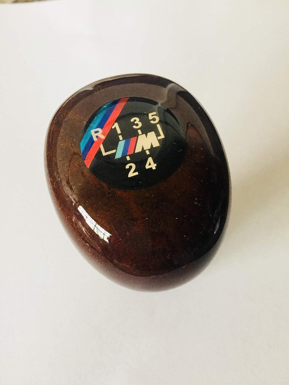 Tr-0089654548787 8 no hacollWood Gear Shift Knob for BMW 5 Speed Handle for 3 5 7 Series M E36 E46 E34 E30 E46 E90