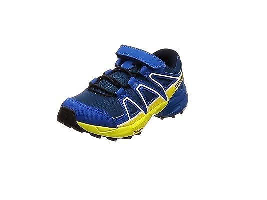 Kinder Speedcross Bungee Schuhe blue acai paradise 27