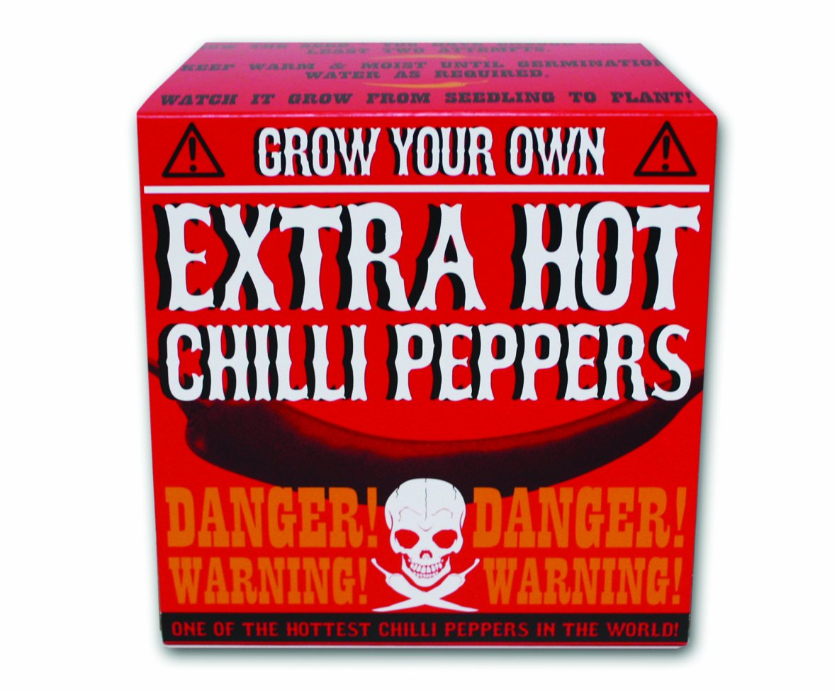Gift Republic Grow Your Own Extra Hot Chilli Gift Republic Ltd GR330017