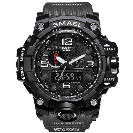 Amazon.com: Meetloveyou Men Sports Watches Dual Display ...