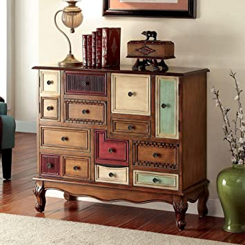 Amazon.com: 1PerfectChoice Desree Accent Chest Cabinet Storage ...