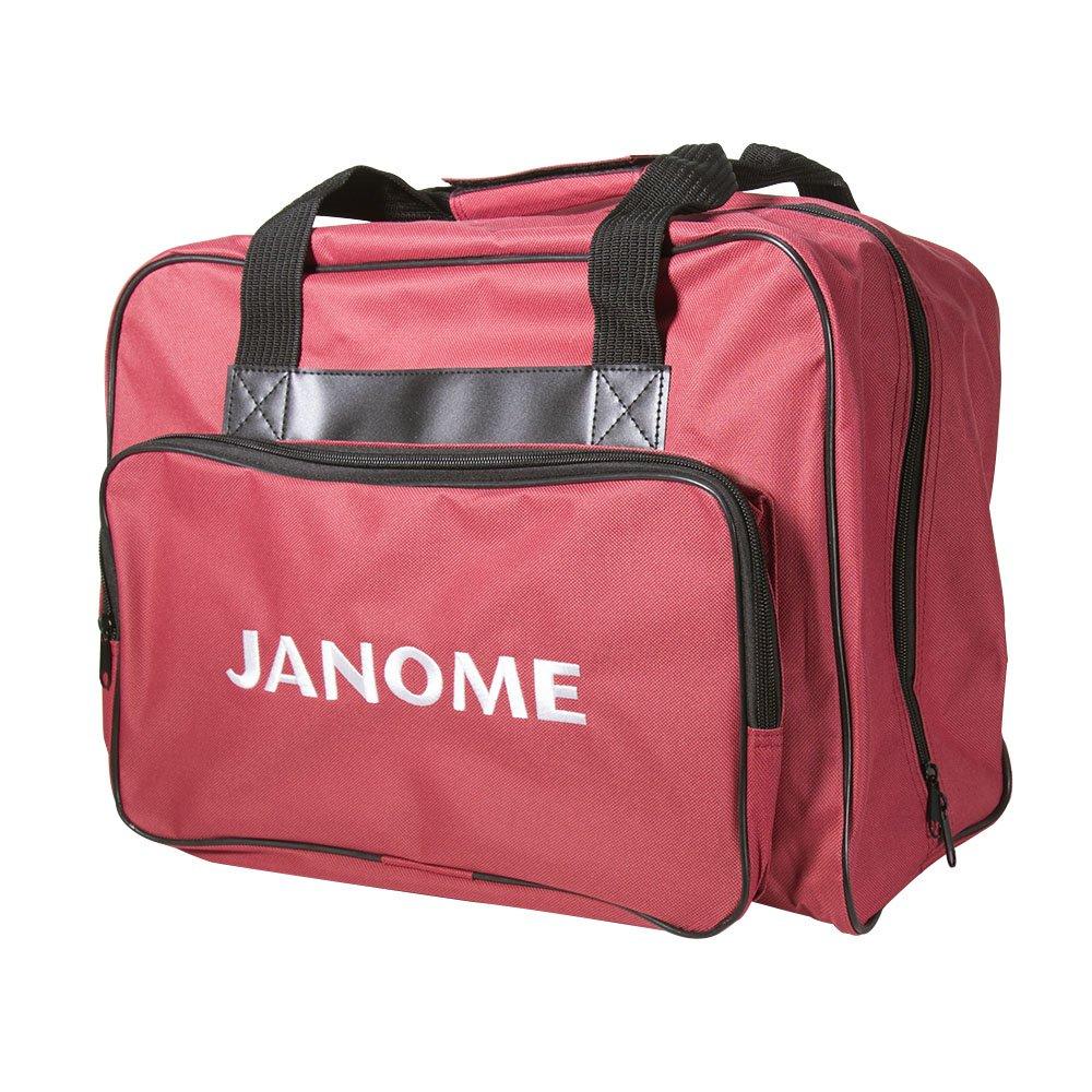 Janome Universal Purple Sewing Machine Tote, Canvas Janome America 002TOTEPURPLE