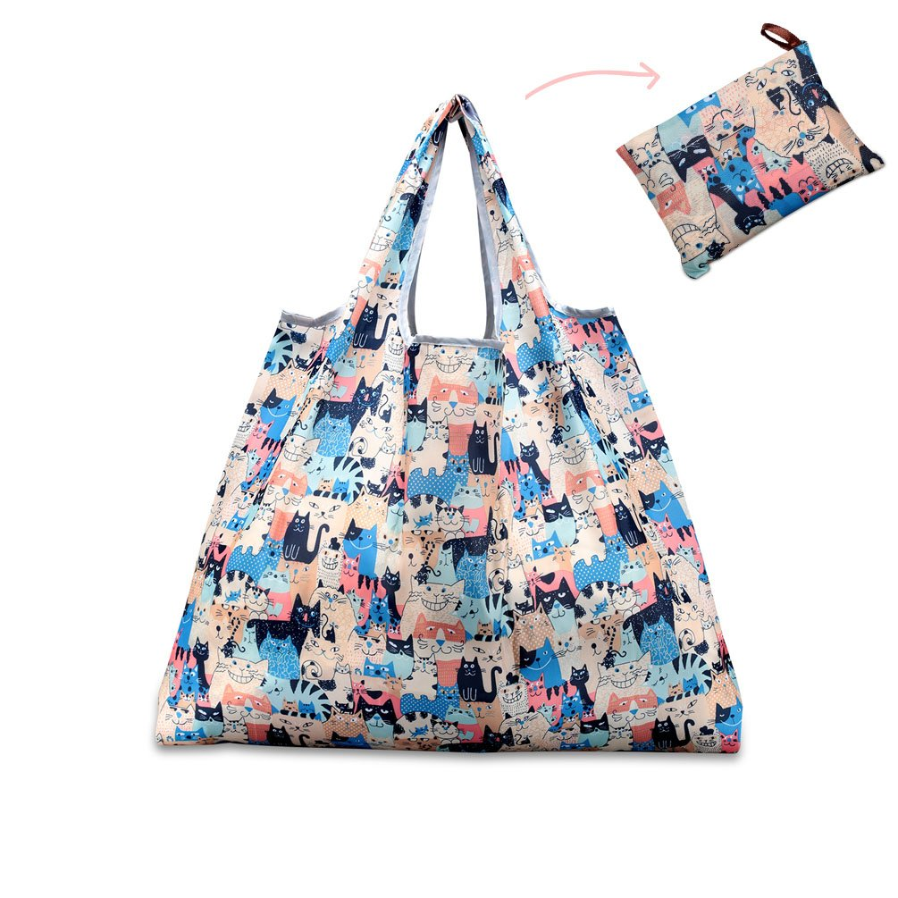 Colorful Cats shopping bag